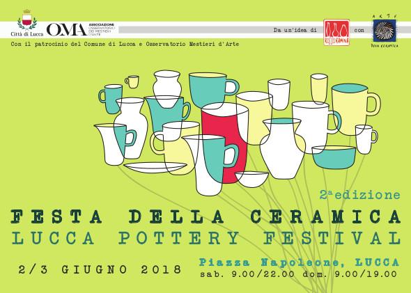 Lucca pottery festival_Locandina