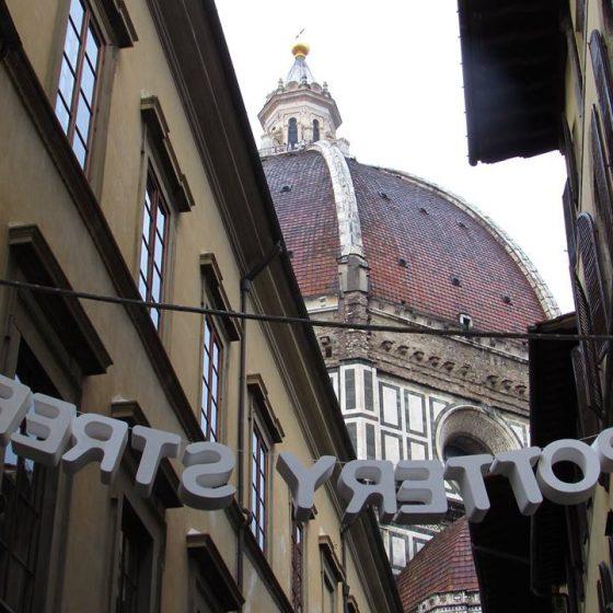 Fiera Della ceramica Firenze_street
